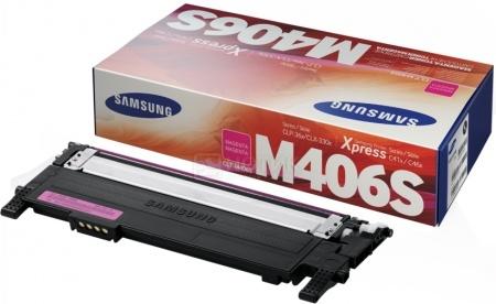 Картридж Samsung CLT-M406S для CLP-360 365 365W 410W, 1000 стр, Пурпурный CLT-M406S/SEE