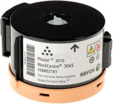 Тонер-картридж Xerox для Phaser 3010 3040 WC 3045 1000стр Черный 106R02181 от Нотик