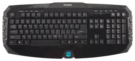 Клавиатура проводная Zalman ZM-K300M, Черный НОТИК 600.000