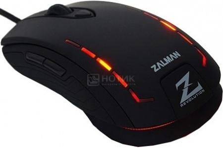 Мышь проводная Zalman ZM-GM3, 8200dpi, Черный НОТИК 800.000