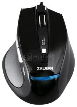 Мышь проводная Zalman ZM-M400, 1600dpi, Черный НОТИК 550.000