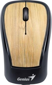 Мышь беспроводная Genius Navigator 905 Bamboo, 1200dpi, Черный/Коричневый НОТИК 900.000