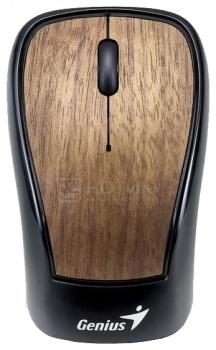 Мышь беспроводная Genius Navigator 905 Wood, 1200dpi, Черный НОТИК 900.000
