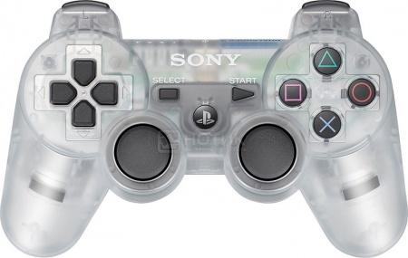 Игровой контроллер PS3 Dualshock Controller Blister, Прозрачный НОТИК 2590.000