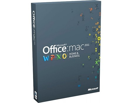 Программный продукт Microsoft Office Mac Home and Business 2011 Russian DVD 1PK W6F-00232