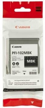 Картридж Canon PFI-102BK для IPF-500 600 700 120 стр. Черный 0895B001