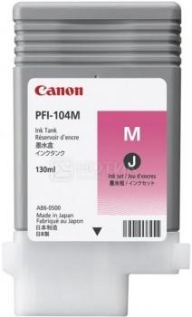 Картридж Canon PFI-104M для iPF650 655 750 755 120 стр. Пурпурный 3631B001