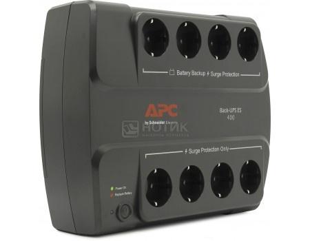Фотография товара иБП APC Back-UPS ES 400 280Вт 400ВА, Черный BE400-RS (32720)