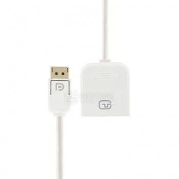 Адаптер Prolink Display Port (М) - DVI (F), 0,2м, Белый НОТИК 790.000