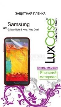Защитная плёнка LuxCase для Samsung Galaxy Note 3 Neo, Антибликовая НОТИК 250.000
