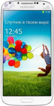Смартфон Samsung Galaxy S4 16Gb White La Fleur GT-I9500ZWZSER (Android 4.2/5410 Octa 1600MHz/5.0