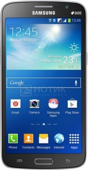 Смартфон Samsung Galaxy Grand 2 Duos SM-G7102 Black (Android 4.3/MSM8226 1200MHz/5.2