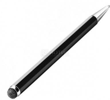 Стилус-ручка Deppa 11506 DUO для емкостных дисплеев, Черный НОТИК 350.000