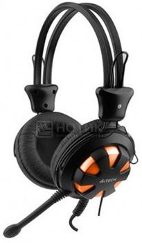 Гарнитура A4Tech HS-28, Черный/Оранжевый НОТИК 590.000