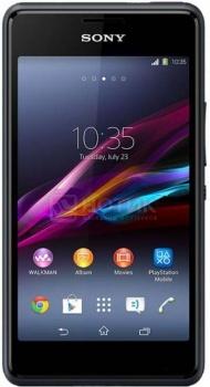 Смартфон Sony Xperia E1 Black (Android 4.3/MSM8210 1200MHz/4.0
