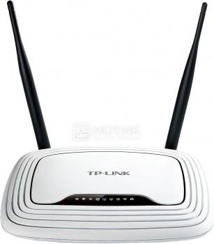 Маршрутизатор TP-Link TL-WR841N 802.11n до 300Мб/с, Белый wi fi роутер tp link tl wr841n tl wr841n
