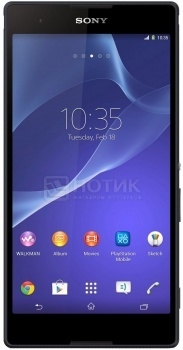 "Смартфон Sony Xperia T2 Ultra Black (Android 4.3/MSM8928 1400MHz/6.0"" 1280x720/1024Mb/8Gb/4G LTE  ) [D5303 Black] от Нотик"