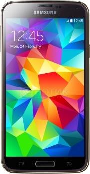 """Защищенные смартфоны Samsung Galaxy S5 LTE 16Gb Gold SM-G900FZDASER (Android 4.4/Snapdragon 801 2500MHz/5.1"""" (1920x1080)/2048Mb/16Gb/4G LTE 3G (EDGE, HSDPA, HSUPA)) [SM-G900FZDASER] от Нотик"""