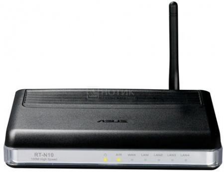 Маршрутизатор Asus RT-N10P V2 беспроводной 150Mbps Wireless-N Router Черный
