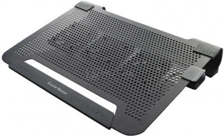 """Подставка для ноутбука 19"""" Cooler Master NotePal U3 R9-NBC-U3PK-GP, Черный НОТИК 1800.000"""