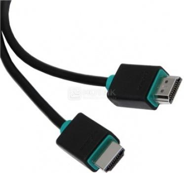 Кабель Prolink HDMI (M) - HDMI (M) v1.4, 1,5м, Черный PB348-0150