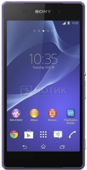 "Защищенные смартфоны Sony Xperia Z2 Purple (Android 4.4/MSM8974AB 2300MHz/5.2"" 1920x1080/3072Mb/16Gb/4G LTE  ) [D6503 Purple] от Нотик"