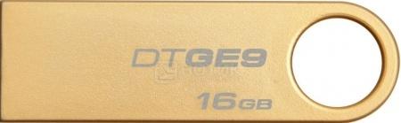 Флешка Kingston 16Gb DataTraveler GE9 DTGE9/16GB, Золотистый от Нотик