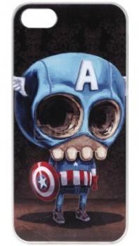 Чехол-накладка Anzo Captain A для iPhone 5/5S, Пластик, Коричневый 1955-F348 НОТИК 700.000