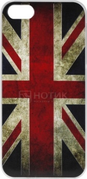 Чехол-накладка Anzo Great Britan для iPhone 5/5S, Пластик, Разноцветный 1955-F247