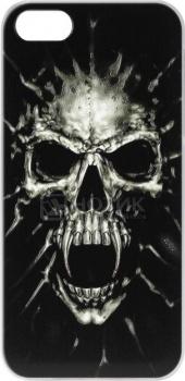 Чехол-накладка Anzo Skull для iPhone 5/5S, Пластик, Черный 1955-F520 НОТИК 700.000