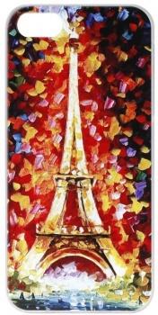 Чехол-накладка Anzo Акварель №9 для iPhone 5/5S, Пластик, Разноцветный 1955-F201 НОТИК 700.000