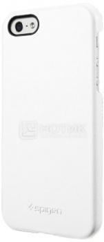 Чехол-накладка Spigen SGP для iPhone 5S/5 Genuine Leather Grip, Кожа, Белый SGP09602 НОТИК 1600.000