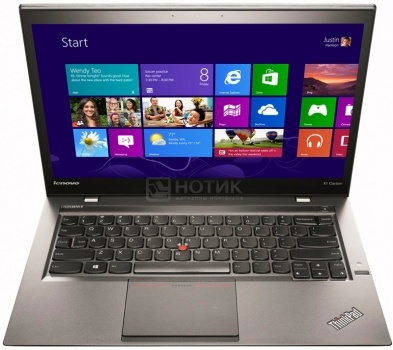 Ультрабук Lenovo ThinkPad X1 Carbon 2 (14.0 LED/ Core i7 4550U 1500MHz/ 8192Mb/ SSD 512Gb/ Intel HD Graphics 5000 64Mb) MS Windows 7 Professional (64-bit) [20A7004GRT] НОТИК 84600.000