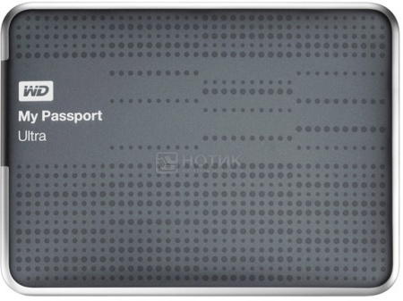 "Жесткий диск Western Digital 500Gb WDBLNP5000ATT-EEUE My Passport Ultra 2.5"" USB 3.0, Серый НОТИК 2400.000"