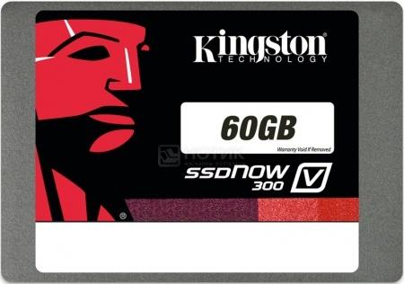 "Внутренний SSD-накопитель Kingmax V300 SV300S37A/60G 60Gb 2.5"" SATA-III, Черный НОТИК 2500.000"