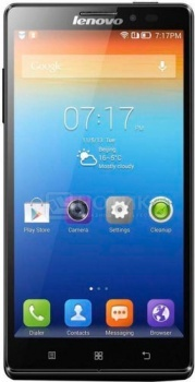 Смартфон Lenovo IdeaPhone K910L 16Gb Titanium (Android 4.2/Snapdragon 800 2200MHz/5.5