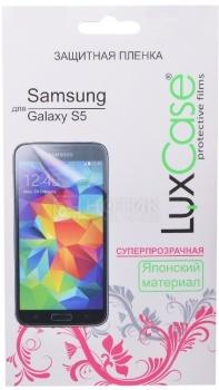 Защитная пленка LuxCase для Samsung Galaxy S5 SM-G900F, Суперпрозрачная