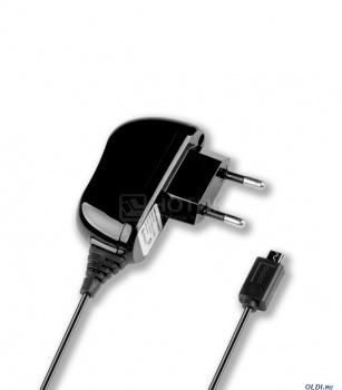 Сетевое зарядное устройство Deppa 23120 с разъемом microUSB 1А, Черный