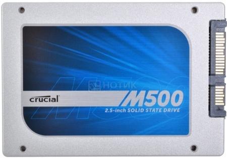 """Внутренний SSD-накопитель Crucial M500 SATA 3.0 240Gb CT240M500SSD1 2.5"""" Белый НОТИК 6200.000"""