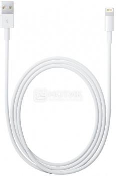 Кабель Apple Lightning to USB 1м, MD818ZM/A, Белый