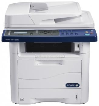 МФУ лазерное монохромное Xerox WorkCentre 3315DN, A4,  ADF, 31 стр/мин, 128Мб, факс, USB, LAN, Белый 3315V_DN от Нотик