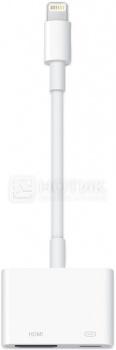 Адаптер Apple MD826ZM/A Lightning to Digital AV, Белый