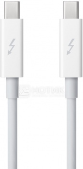 Кабель Apple Thunderbolt to Thunderbolt Cable 0.5 м, Белый MD862ZM/A