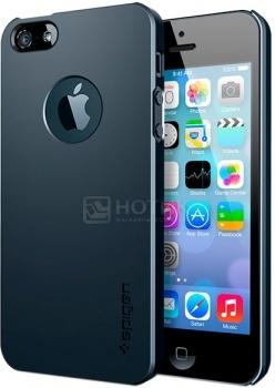 Чехол-накладка Spigen SGP для iPhone 5S/5 Ultra Thin Air A, Поликарбонат, Серый SGP10501 НОТИК 990.000