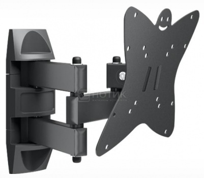 """Кронштейн Holder LCDS-5038 20-37"""", 200x200, до 30кг, Черный, арт: 34344 - Holder"""