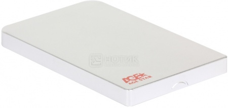 "Внешний бокс для 2.5"" HDD AgeStar 3UB2O1 USB 3.0, Серебристый"