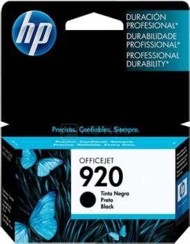 Картридж HP 920 для Officejet 6000 6500 черный CD971AE