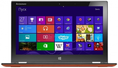 Ультрабук Lenovo IdeaPad Yoga 2 Pro (13.3 IPS (LED)/ Core i5 4210U 1700MHz/ 8192Mb/ SSD 256Gb/ Intel HD Graphics 4400 64Mb) MS Windows 8 Professional (64-bit) [59422771] НОТИК 65990.000
