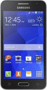 Смартфон Samsung Galaxy Core 2 Duos SM-G355 Black (Android 4.4/MSM8225 1200MHz/4.5