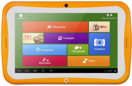Планшет TurboPad TurboKids Star Orange (Android 4.2/RK3026 1000MHz/7.0